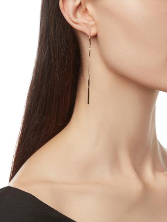 Classico Thin Elongated Earrings