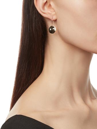 Classico Mini Wavy Disc Earrings