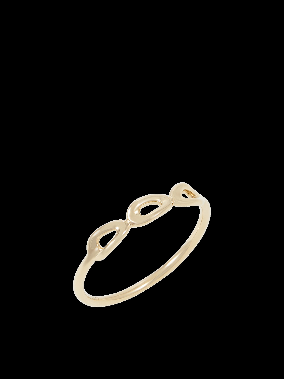 Cherish Mini Triple Link Ring