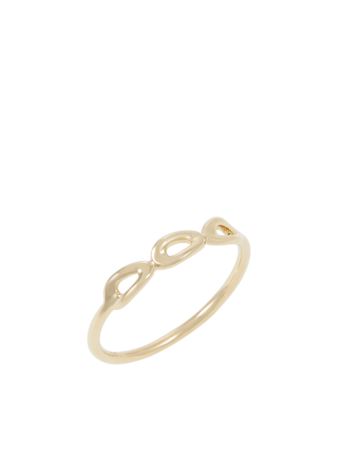 Cherish Mini Triple Link Ring