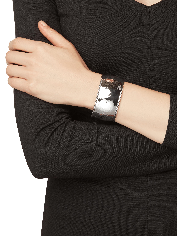 Classico Hammered Cuff Bracelet