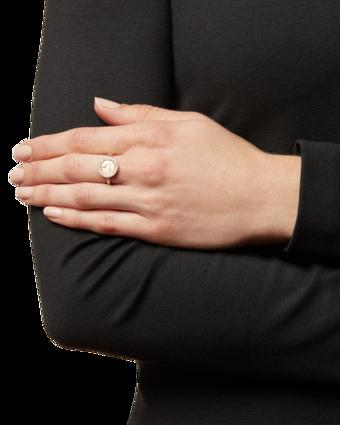Angel Ring In Diamond Pavé