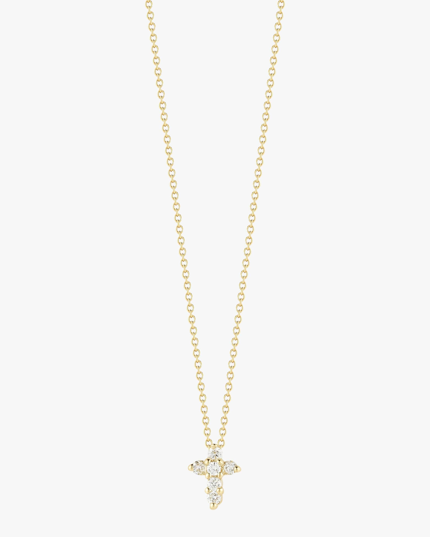 Roberto Coin Baby Cross Necklace 1