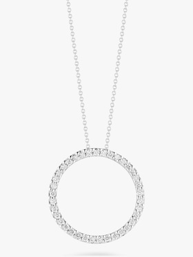Small Circle Pendant Necklace