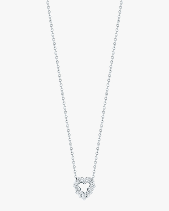 Roberto Coin Mini Heart Pendant Necklace 0
