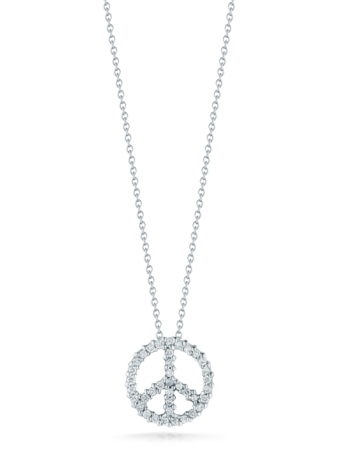 Peace Sign Pendant Necklace