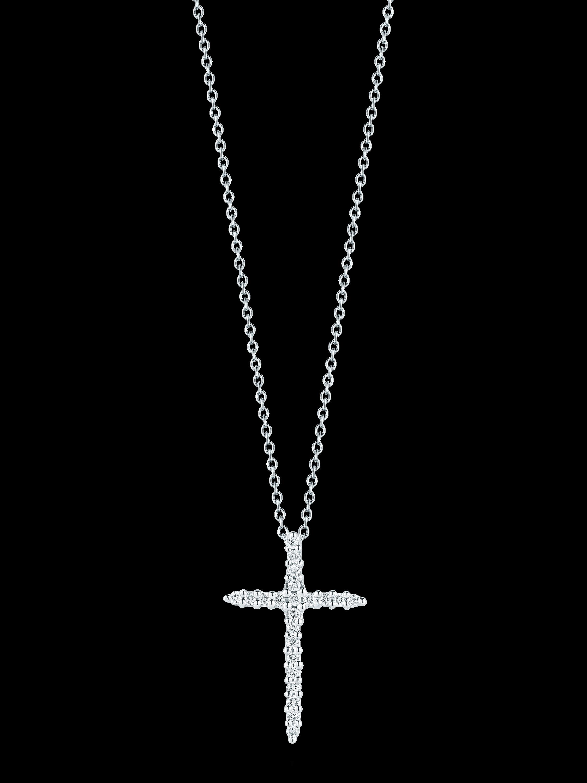 Roberto Coin Cross Pendant Necklace 0