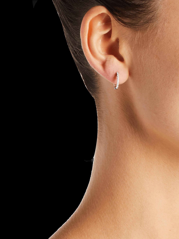 Roberto Coin Huggie Hoop Earrings 2