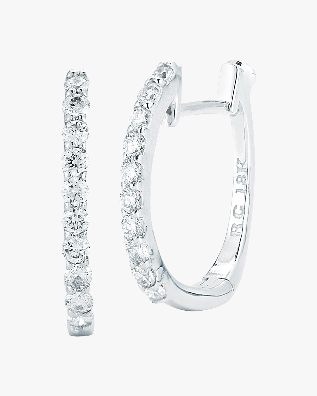 Roberto Coin Huggie Hoop Earrings 1