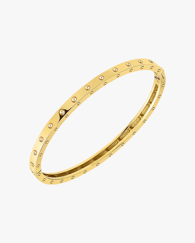 Roberto Coin Pois Moi Oval Bangle Bracelet 1