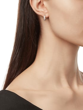 Symphony Huggie Hoop Earrings