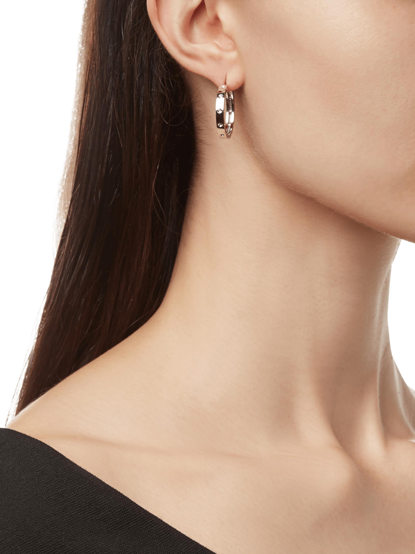 Roberto Coin Pois Moi Hoop Earrings 2