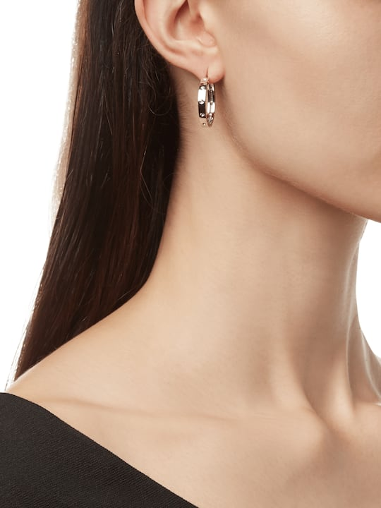 Roberto Coin Pois Moi Hoop Earrings 1