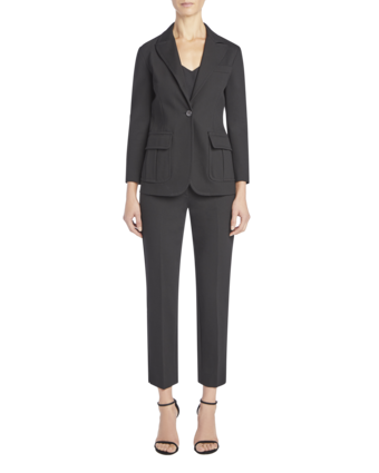 Single Button Fitted Blazer image two