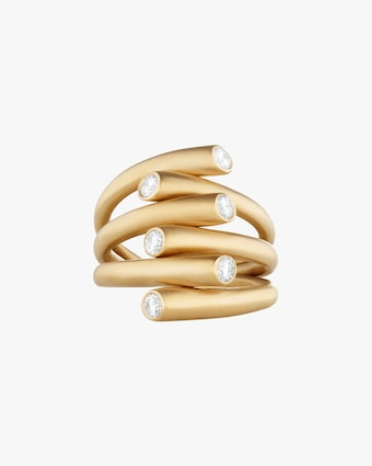 Carelle Whirl Diamond Ring 2