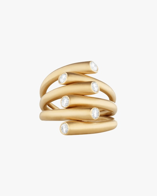 Carelle Whirl Diamond Ring 0