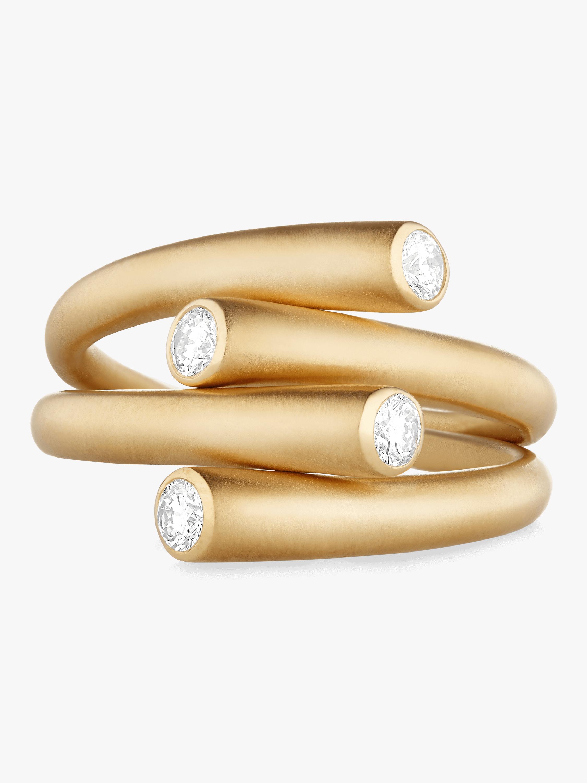 Whirl Duo Diamond Ring