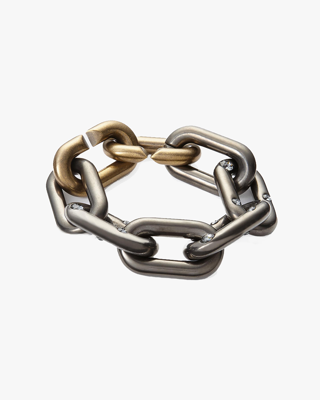 Tomas Maier Spark Brass Chain Bracelet 2