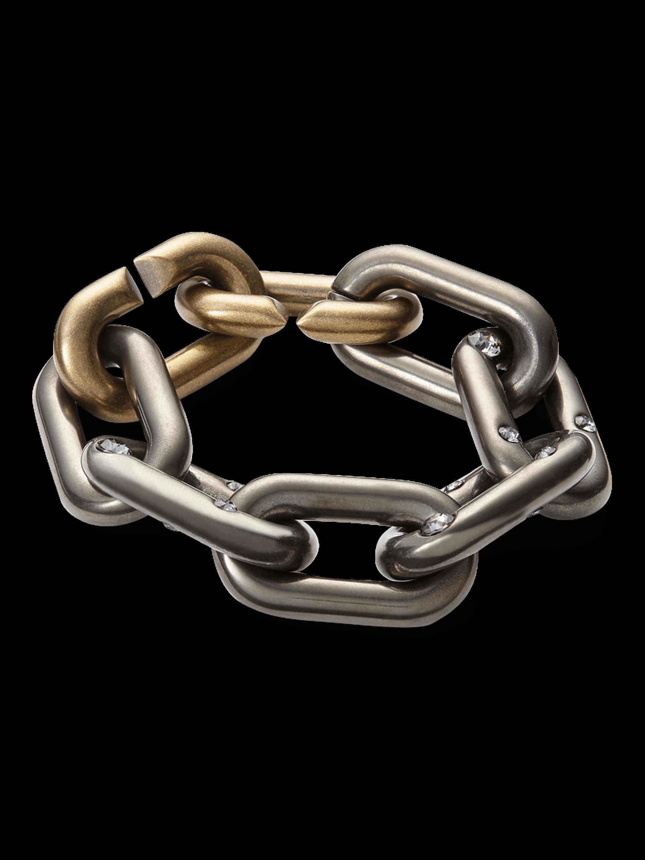 Spark Brass Chain Bracelet