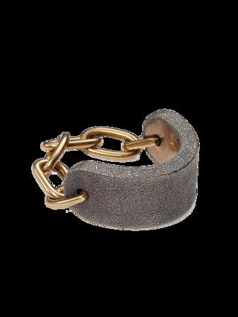 Spark Brass Large Chain Bracelet