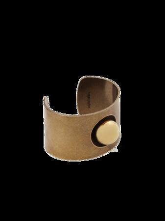 Globe Cuff Bracelet