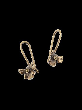 Aster Flower Earrings