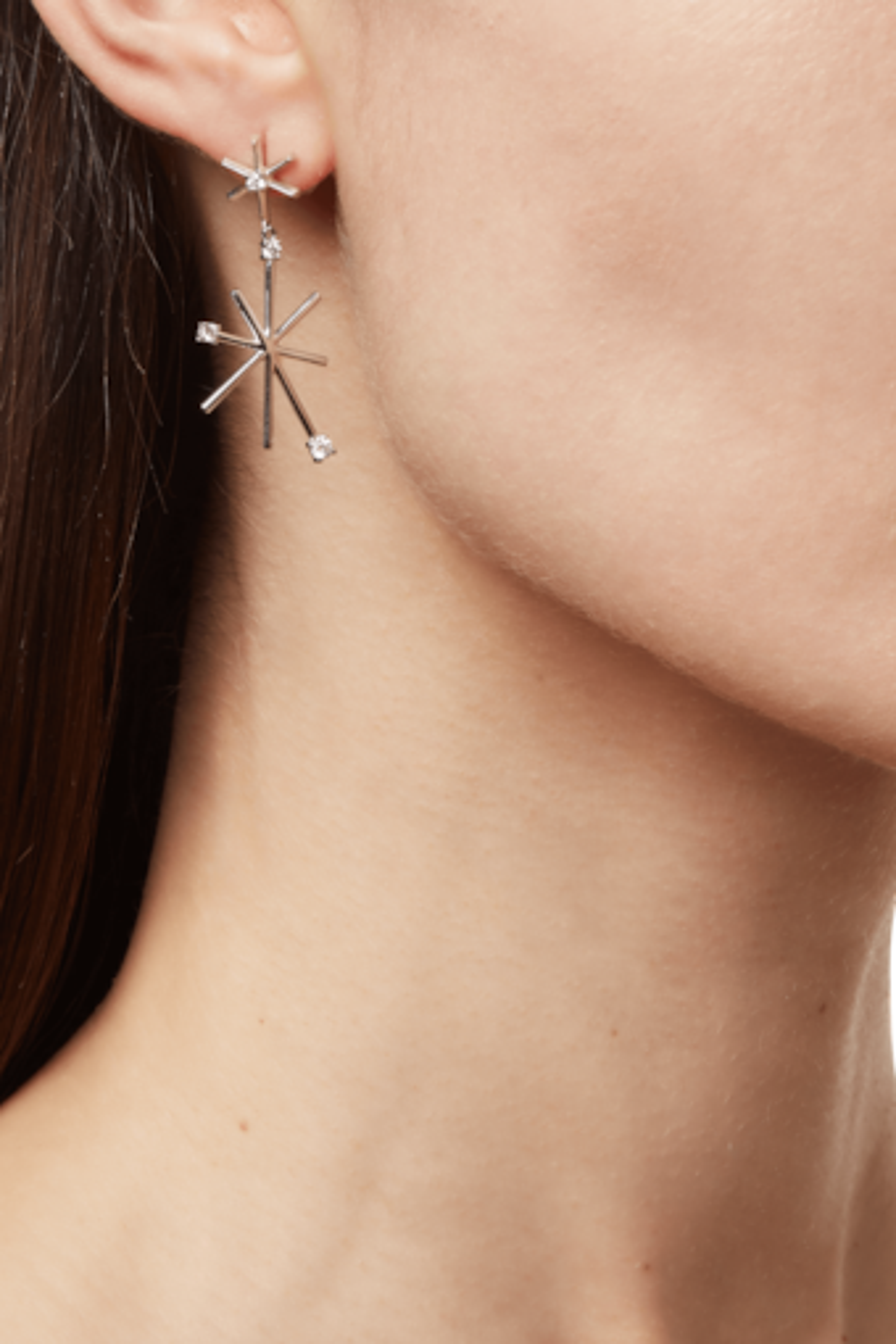 Piece Star Earrings