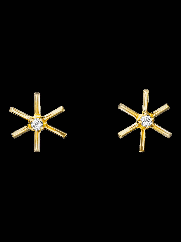 Piece Star Stick Studs