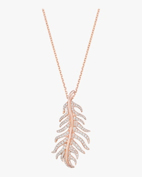Phoenix Feather Necklace
