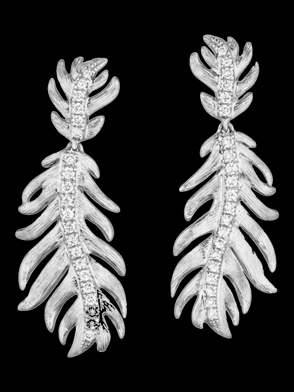 Phoenix Feather Earrings