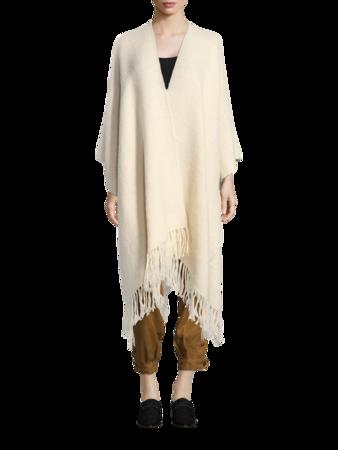 Wool Poncho Wrap