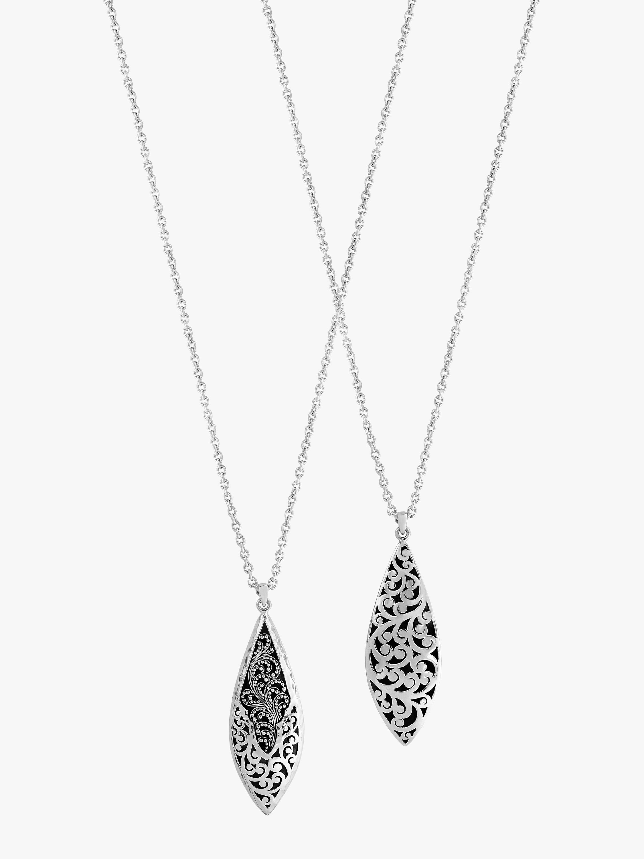 Long Teardrop Necklace