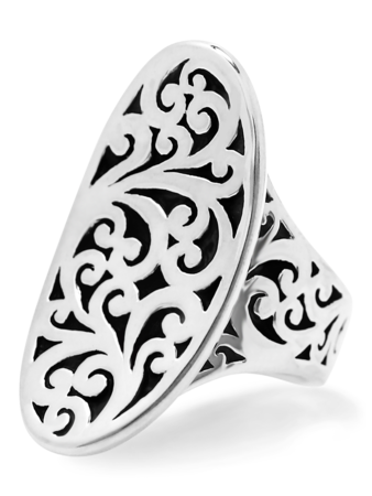 Classic Round Cut Out Ring