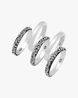 Lois Hill Stacked Ring Set 2