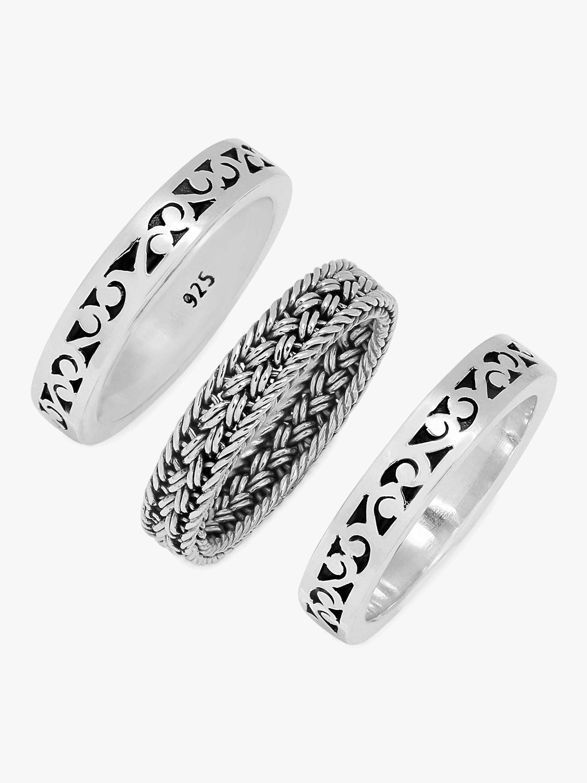 Triple Stacked Ring Set
