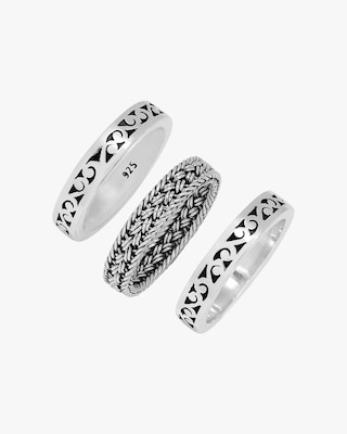 Lois Hill Triple Stacked Ring Set 2