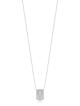 Star Dog Tag Necklace