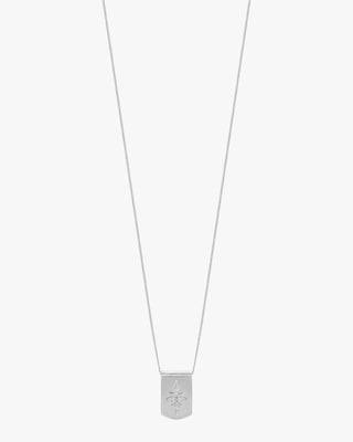 Lois Hill Star Dog Tag Necklace 2