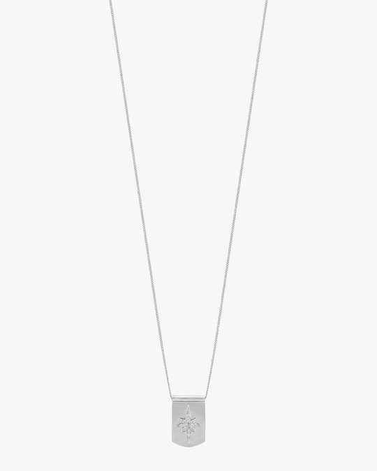 Lois Hill Star Dog Tag Necklace 0