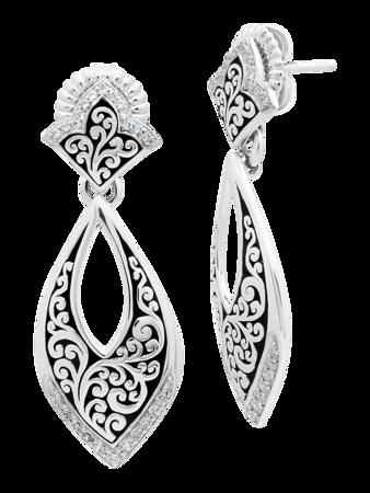 Teardrop Post Earrings