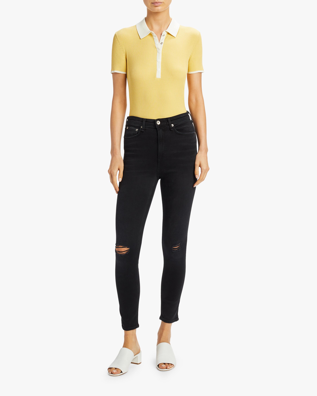 Nina High-Rise Ankle Skinny Jean