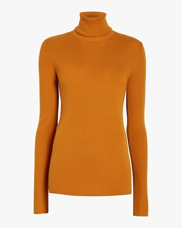 Basic Merino Roll Neck Sweater