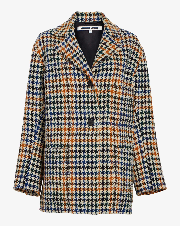Houndstooth Top Coat