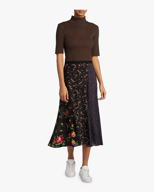 Cut Up Skirt