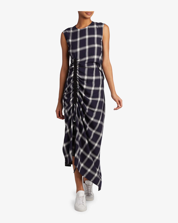 Drape Drawstring Dress