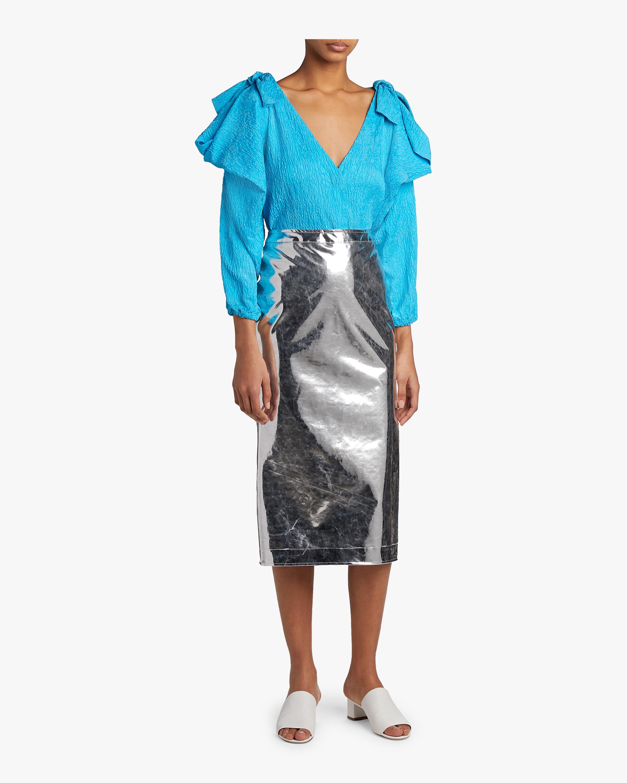 Kick Back Godet Skirt