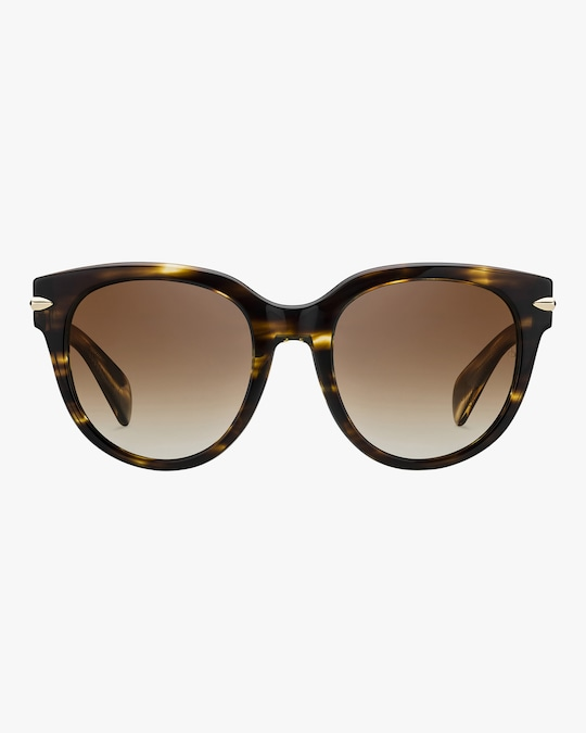 rag & bone Round Cay Eye Polarized Sunglasses 0