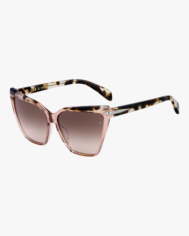 rag & bone Squared Cat Eye Sunglasses 2