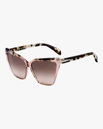 rag & bone Squared Cat Eye Sunglasses 2