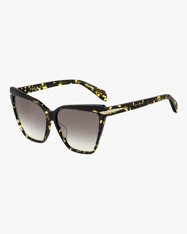 rag & bone Squared Cat Eye Sunglasses 1